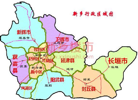 郑济高铁(规划)纵横交汇,107国道,京港澳高速,济东高速,大广高速公路